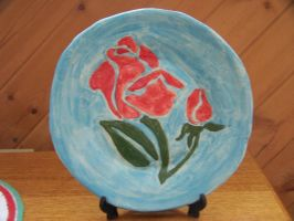 Ceramic Plate by Chickaroo16