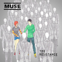 Muse-The Resistance album cover by Isalobar