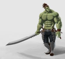 Orc Blade Master by Unn89