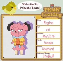 PKMN Crossing: Regina by Flamongirl13