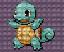 Squirtle Lego by drsparc