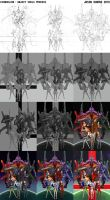 NGE: Abject Souls Process by UponThouFairCat