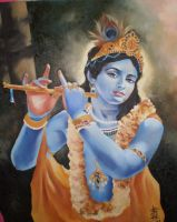 krishna by Searapia