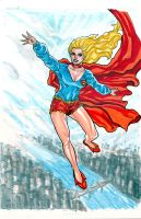 70's Supergirl by montrosity