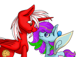 Chico and Lilly Sweetart by Nikki-Lirra