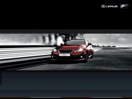 Lexus IS F Wallpaper by ryn004
