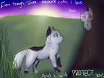 :I will protect you: by LeMinecraftFreak