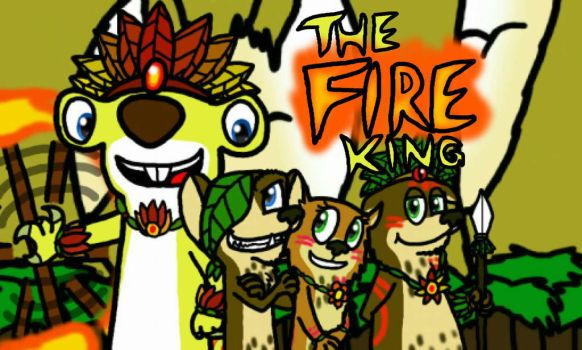 AT: The Fire King by FanDusk64