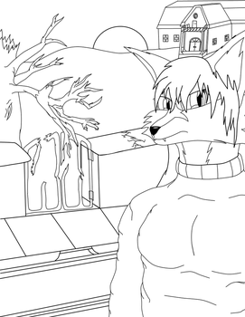 Nightmare comes inked WIP by DarkFoxProjectX