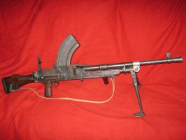 WWII BREN light machine gun by vonmeer