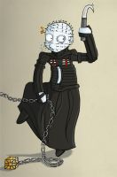 Hellraiser - Pinhead by Dartlein