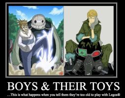 Boys and Toys by BlindDevotion
