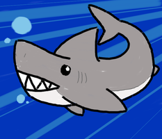 Sharky Doodle by Noobynewt