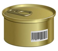 Create a Can with a Barcode in Adobe Illustrator by Designslots
