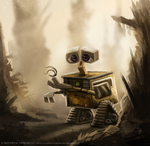 DAY 221. Wall-E by Cryptid-Creations