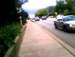 Tilt Shift: The Pedestrian by PoeticLotusCreations