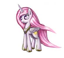 Pink Celestia by lurarin