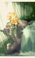 jungle drum by orum-the-cat