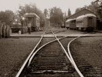 tracks, Old Sacramento 2 by rbeebephoto