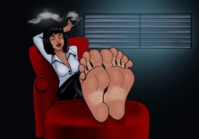 Pulp Fiction by Bigfootfantasies