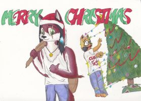 MERRY CHRISTMAS by Fausch