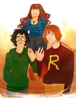 The Golden Trio by Nikadonna