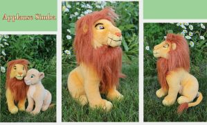 New Applause adult Simba plush by Laurel-Lion