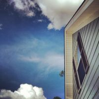 Blue House, Blue Sky by shelbyrenee