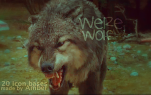 Werewolves icon bases by amber-necklace