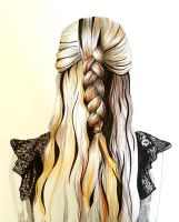 Hair in Ink by IsabelleMaria