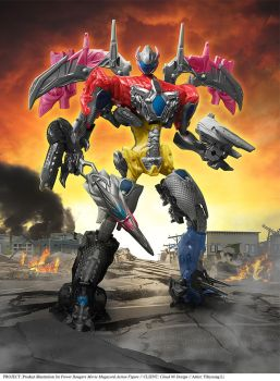 Power Rangers Movie Megazord action figure by YihyoungLi