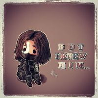 Winter soldier...chibi by Nikuwicca