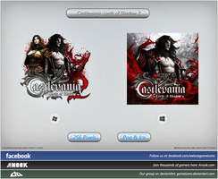Castlevania: Lords of Shadow 2 - Icon by Crussong
