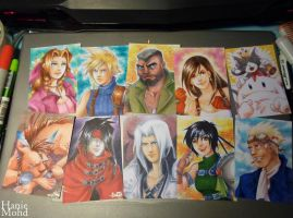 Final Fantasy VII Posse by HanieMohd
