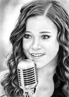 Singer-Songwriterin Megan Nicole by Color3brush