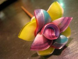 candy flower by qwux