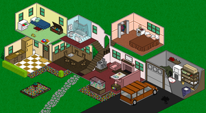 lived in .pixel art. by superladysarah