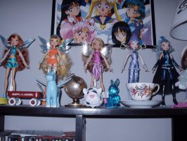 Winx Club Dolls by KittyChanBB