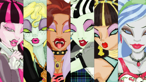 MonsterHigh WallPaper by SinayaStarChild