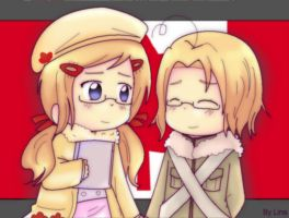 APH: Two Canadas by Masterchococheese