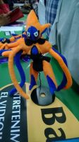 386 deoxys attack plush by xmorris33