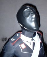 Law Enforcement Officer with silicone mask 1 by rubbermask