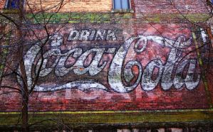 FADED COCA COLA by ScarredWolfphoto