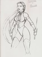 Pocahontas as Mileena MK '96? by JosephB222