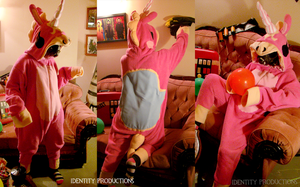 Custom Commissioned Balloonicorn Kigurumi by IdentityPolution