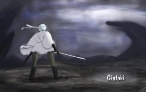 Gintoki Painting by Seph-the-Zeth