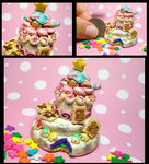 Clay Cliche Party Cake by GrandmaThunderpants