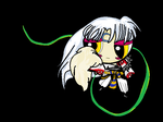 Puffed Sesshomaru by hanyou-lover1