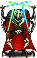General Grievous (Day 1) by Chalecus