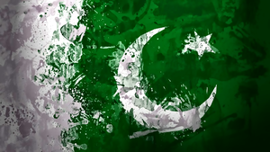 Pakistan Flag by kingwicked